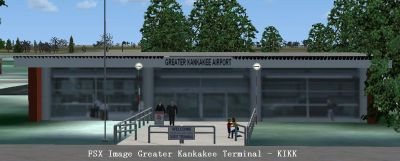 Screenshot of Greater Kankakee Airport Terminal.