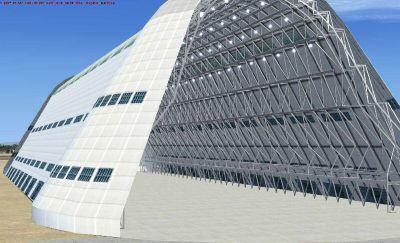 Screenshot of Hangar One.