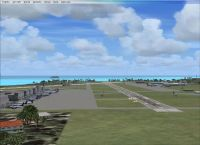 Screenshot of Hawaii 1 Airport Scenery.