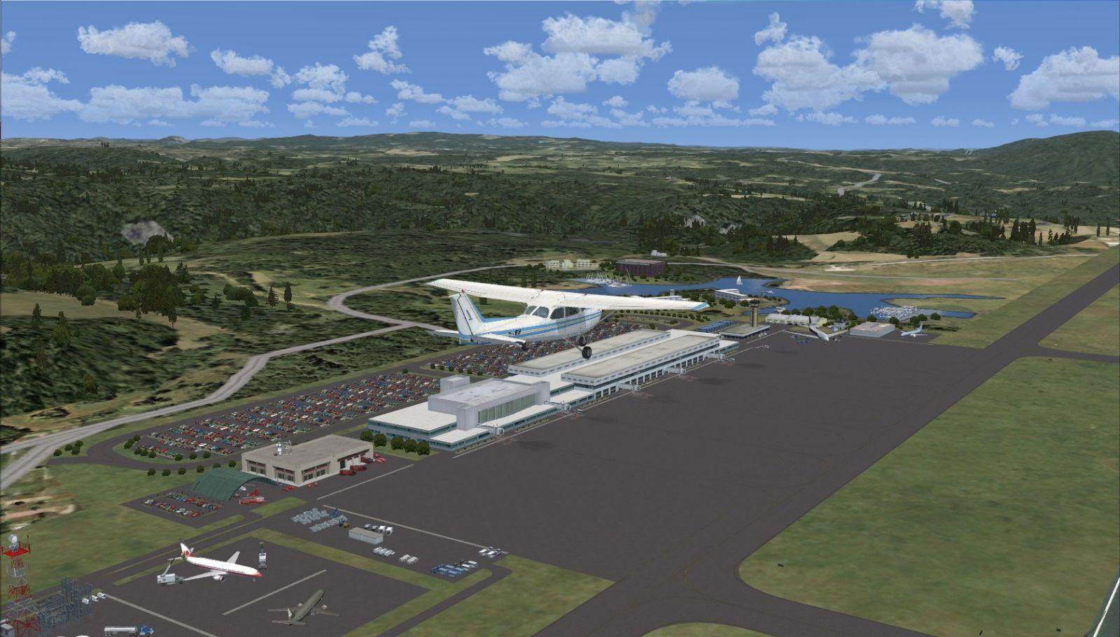 hiroshima airport scenery for fsx