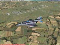 Screenshot of Husum Air Base Scenery.