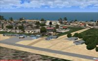 Screenshot of Jeffreys Bay Airfield Scenery.