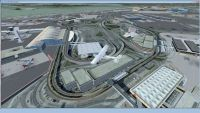 Screenshot of John F. Kennedy Airport Scenery.