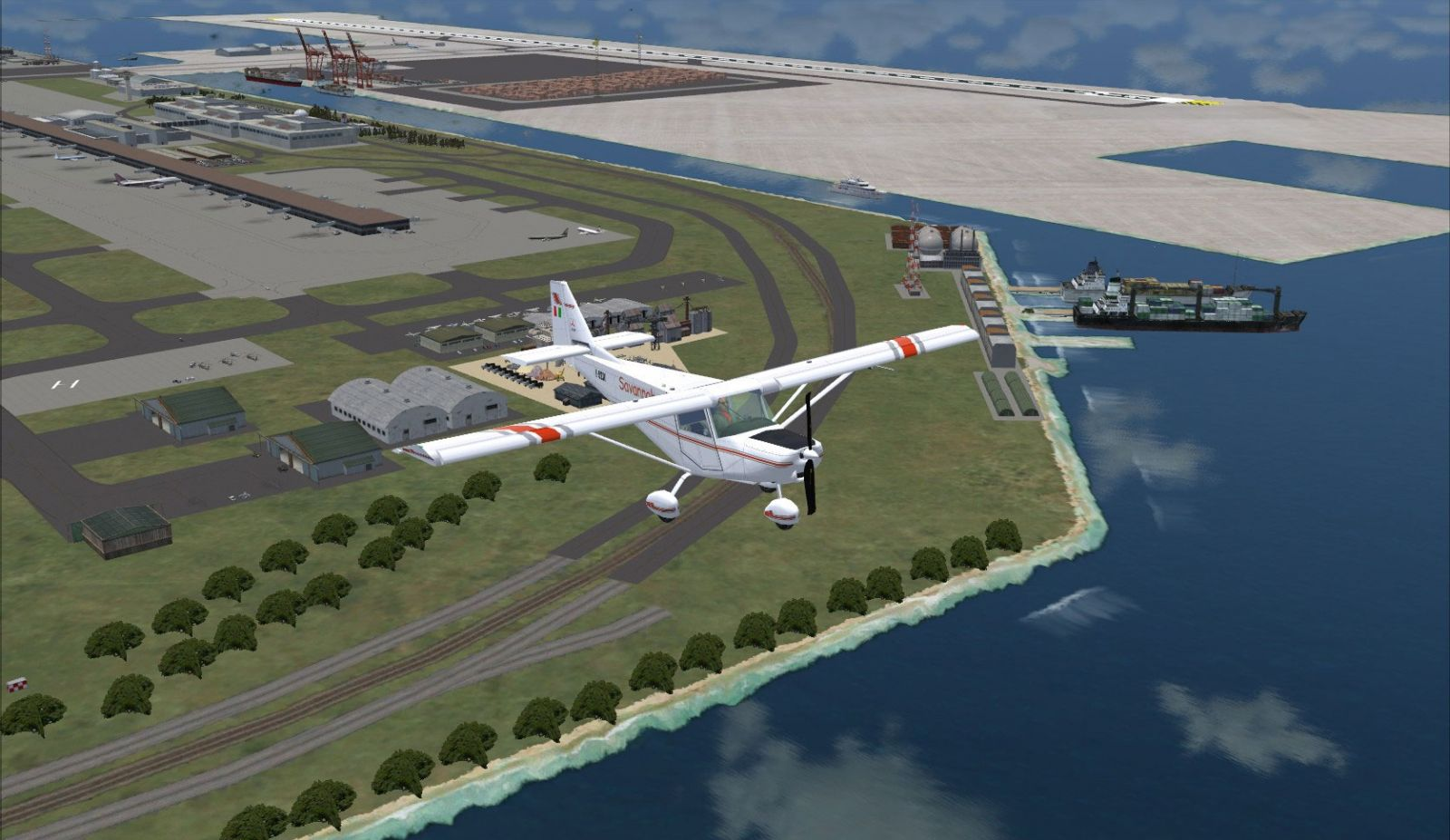 Kansai Int'l Airport Scenery for FSX