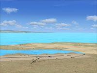 Screenshot of Kasaba Bay Airport Scenery.