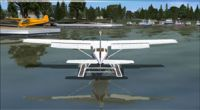 Screenshot of King Seaaero Seaplane Base Scenery.