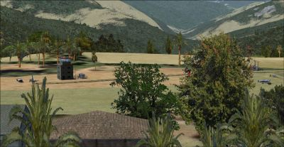 Screenshot of Lamidada Airfield Scenery.