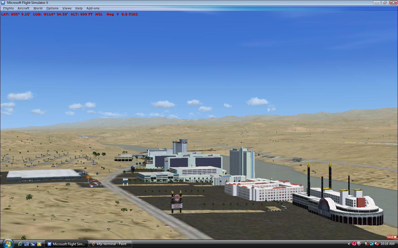 Laughlin/Bullhead International Airport Scenery for FSX