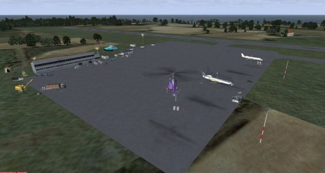Mygw west end scenery for fsx for Mygw