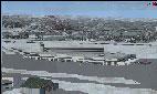 Screenshot of Manchester-Boston Regional Airport Scenery.