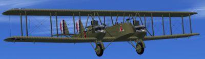 Screenshot of Martin MB-2 Bomber in flight.