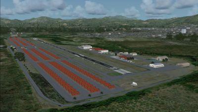 Screenshot of Metropolitano Airport Scenery.
