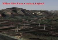 Screenshot of Millom Wind, Cumbria, England.
