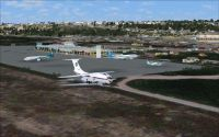 Screenshot of Mogadishu X Scenery.