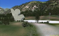 Screenshot of Monument Plateau Des Glieres Scenery.