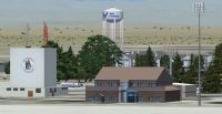 Screenshot of Mountain Home AFB Scenery.