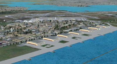 Screenshot of NAS Corpus Christi Scenery.