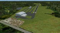 Screenshot of Red Lion Airport Scenery.