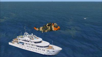 Screenshot of North Sea Scenery.