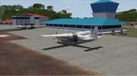 Screenshot of Ogle International Airport Scenery.