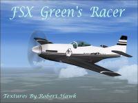 Screenshot of P-51 Bill Greens Racer in flight.