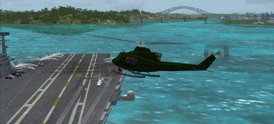 Screenshot of Panama Scenery.