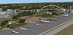 Screenshot of Paradyz Airport Scenery.