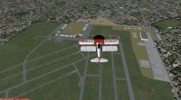 Screenshot of Parafield Airport Scenery.