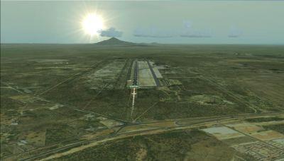 Screenshot of Paraguaná Airport, Venezuela Scenery.