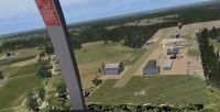 Screenshot of Peach State Airport during the day.