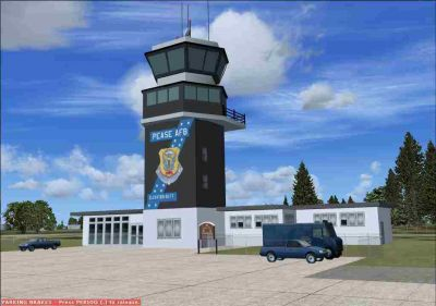Screenshot of Pease Air Force Base Scenery.