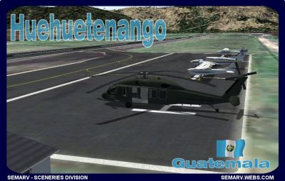 Screenshot of Playa Grande Airport Scenery.