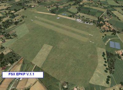 Screenshot of Pobiednik Wielki Airport Scenery.
