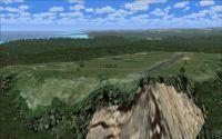 Screenshot of Port St. Johns Airport Scenery.
