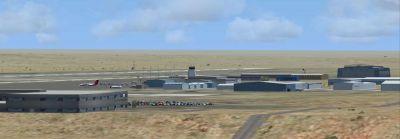 Screenshot of Pueblo Municipal Airport Scenery.
