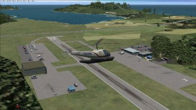 Screenshot of Puerto Rico Airports Scenery.