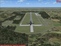 Screenshot of RAF Bruggen Air Base Scenery.