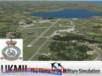 Screenshot of RAF Kinloss Scenery.