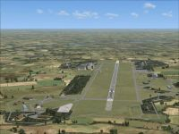 Screenshot of RAF Laarbruch AB Scenery.