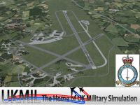 Screenshot of RAF Leeming Scenery.