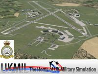 Screenshot of RAF Lossiemouth Scenery.