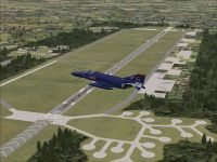 Screenshot of RAF Wildenrath AB Scenery.