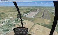 Screenshot of Rome Ciampino Airport Scenery.