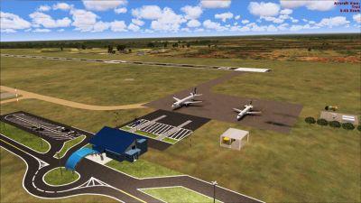 Screenshot of SWSI Scenery 3D.
