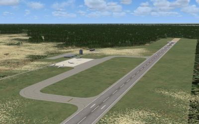 Screenshot view of Sam Mbakwe Airport Scenery.