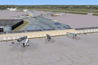 Screenshot of San Antonio International Airport Scenery.