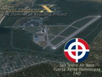 Screenshot of San Isidro Air Base Scenery.