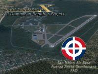 Screenshot of San Isidro Air Base Scenery.