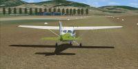 Screenshot of Tuscan Airfields Scenery.