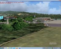 Screenshot of St Vincent, The Grenadines scenery.